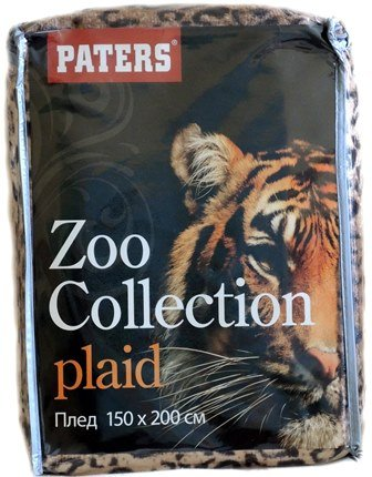 "Плед ""Zoo collection"" Рысь 150х200"